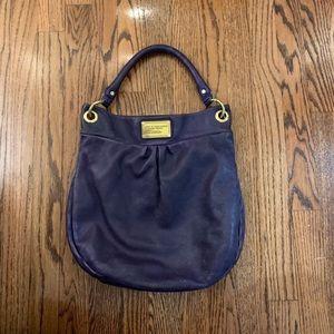 Marc Jacobs Purple Hobo/shoulder bag